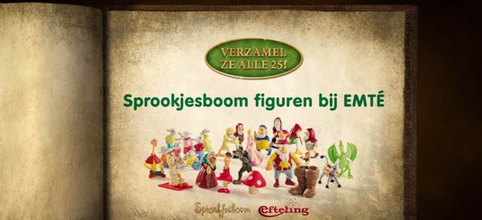 Efteling Actie Emte.Spaaractie Sprookjesboom Figuren Van De Efteling Verzamelen