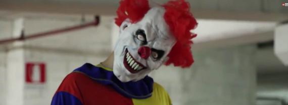 hij was maar een clown