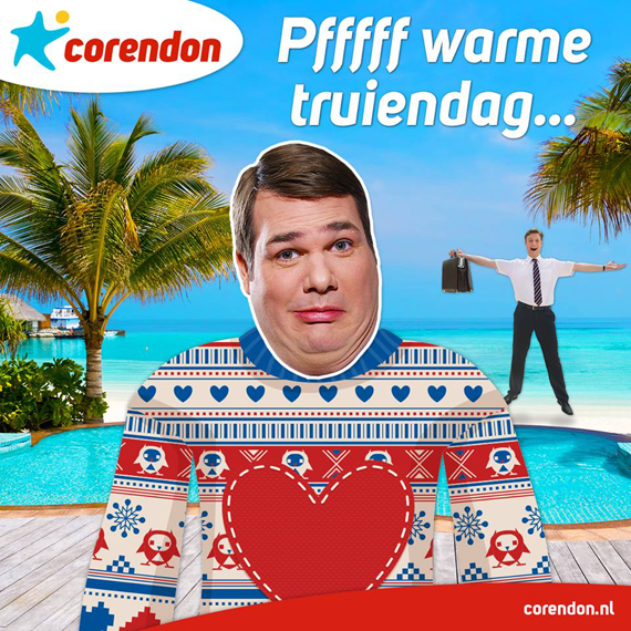 warme trui corendon